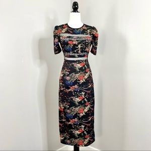 NWOT 🎀 Urban Outfitters Floral Maxi Sheath Dress